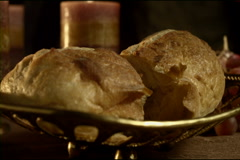 Stock Video Footage of Communion Close Dolly (480p / 23.98)