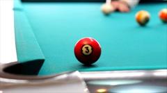 Billiard Pool Stock Footage
