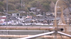 Fishing port Japan Stock Footage