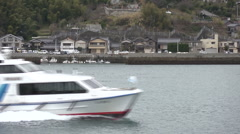 Fishing port Japan Stock Footage