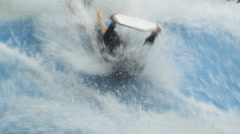 Body Surf 62 Stock Footage