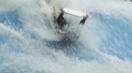 Stock Video Footage of Body Surf 62