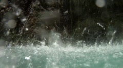 Water closeup HD Stock Footage
