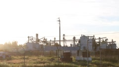 Industrial Milling Stock Footage