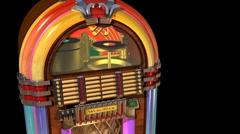 Jukebox Stock Footage
