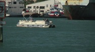 Stock Video Footage of Water scenic dolphin watch boats following pod of dolphins 1 h264