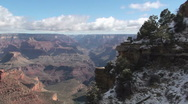 Time Lapse Grand Canyon Winter Stock Footage