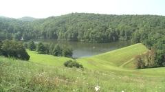 Peaceful Mountain Lake (HD) c Stock Footage