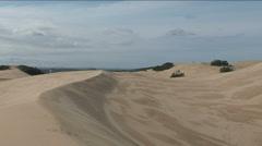 Alexandria sand dunes Stock Footage