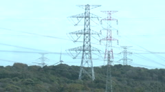 Electricity in Japan Stock Footage