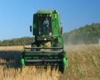 Combine Harvesting Soybeans 02 SD Footage