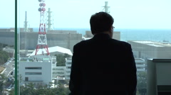 Hamaoka nuclear power Plant, Japan Stock Footage