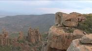 Camdeboo National Park, Valley of Desolation Stock Footage