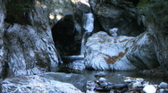 Waterfall in Vermont Stock Footage