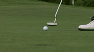 Stock Video Footage of Golf Putting