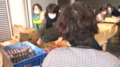 Fukushima Refugees - stock footage