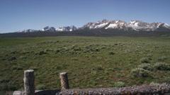 Idaho Mountains 86 Stock Footage
