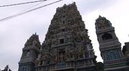 Hindu temple Stock Footage