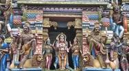 Stock Video Footage of Hindu temple