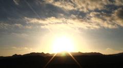 Chatsworth sunset 2 Stock Footage