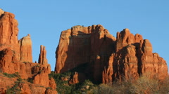 Sedona Red Rock Buttes Stock Footage
