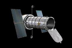 Hubble Telescope Loop (NTSC) Stock Footage