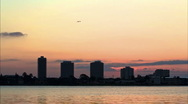 Stock Video Footage of Sunrise timelpase over the Halifax River 720HD