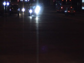 Night city highway Stock Footage