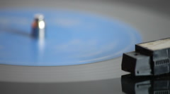 Retro Vinyl Record Player LP Stock Footage