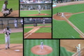 Baseball Game Composite Footage