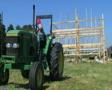 Barn Building Frame SD Footage