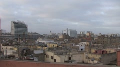 View over Casablanca Stock Footage