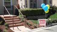 Stock Video Footage of Open House New Homes 6411