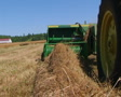 Square Baling Hay SD Footage