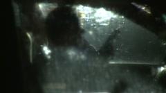 Suicidal Man or Killer in his Car (5) Stock Footage