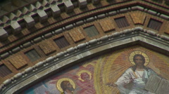 The Saviour on the Spilled Blood Cathedral. Sankt-Petersburg Stock Footage