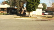 Stock Video Footage of Residential Street Driveby- Brawley CA 3