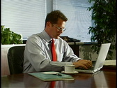 Office Telephone Stock Footage