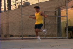 Jumping Rope Stock Footage
