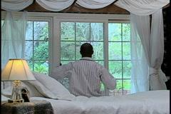 Man Waking Up - stock footage