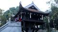 Vietnamese Buddhist Temple, The One Pillar Pagoda in Hanoi, Vietnam, Religious HD Footage