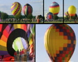Hot Air Balloon Composite Footage