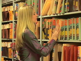 Stock Video Footage of Woman with paperwork
