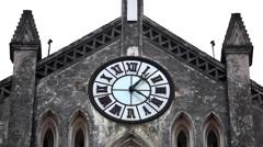Saint Joseph Cathedral in Hanoi, Vietnam, Roman Catholic Cathedral, Religion Stock Footage