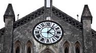 Stock Video Footage of Saint Joseph Cathedral in Hanoi, Vietnam, Roman Catholic Cathedral, Religion