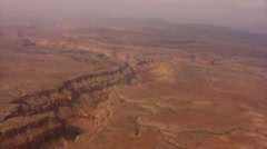 Grand Canyon Aerial 15 South Rim Stock Footage