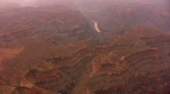 Grand Canyon Aerial 04 Grand Canyon West Stock Footage
