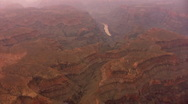 Stock Video Footage of Grand Canyon Aerial 04 West Rim