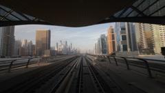 DubaiMetro 0036 Stock Footage