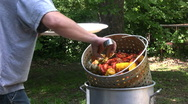 Stock Video Footage of boiled crawfish 3